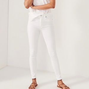 White Abercrombie Jeans